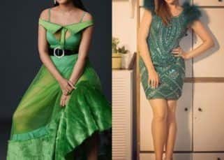 Navratri 2020: Rubina Dilaik, Jasmin Bhasin, Monalisa ⁠— Bigg Boss beauties rock shades of green on day 7
