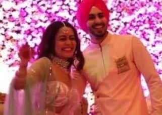 Neha Kakkar dances her heart out with fiancee Rohanpreet Singh at the Roka ceremony — watch video