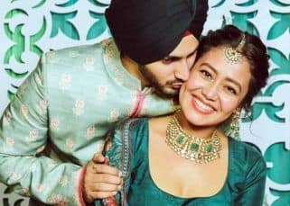 Neha Kakkar and Rohanpreet Singh's mehendi ceremony pics are too cute to miss