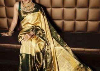 Ridhima Pandit dazzles in her saree avatar this Navratri