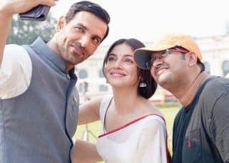जॉन अब्राहम और दिव्या खोसला कुमार ने 'सत्यमेव जयते 2' की शूटिंग की शुरू, लखनऊ से फोटोज हुईं वायरल