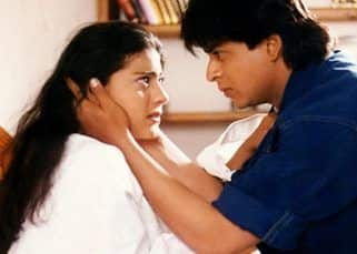Tuesday Trivia: When Shah Rukh Khan and Kajol wasted two entire magazines for steamy bed scene in DDLJ