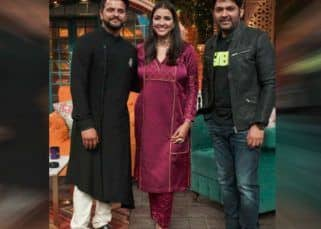 The Kapil Sharma Show: Suresh Raina displays his romantic side with wife Priyanka in the upcoming episode – view pics