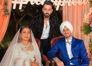 Neha Kakkar and Rohanpreet Singh's Chandigarh reception was a swell affair — view pics