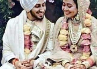 FIRST PICS: Neha Kakkar and Rohanpreet Singh's wedding look will remind you of Virushka