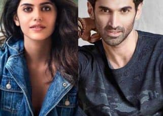 Dil Bechara actress Sanjana Sanghi to pair opposite Aditya Roy Kapur in Ahmed Khan's Om?