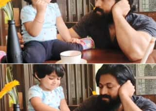 KGF star Yash is every ice cream lover when his baby, Arya, refuses to share a scoop with him ⁠— watch video