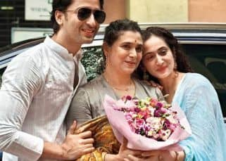 Shaheer Sheikh's picture with reel maa Supriya Pilgaonkar and real wife Ruchikaa Kapoor is beyond adorable