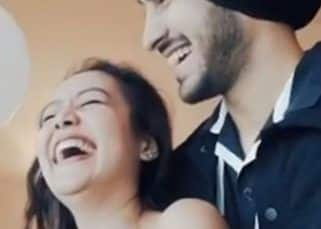Neha Kakkar and husband Rohanpreet Singh lock lips as they celebrate their first month anniversary — watch video