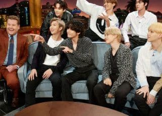 Grammy-nominated BTS perform Dynamite and Life Goes On live on The Late Late Show with James Corden and it's nothing short of PERFECTION — watch video