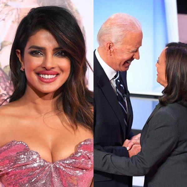 Every Vote Counts Priyanka Chopra Congratulates America S President Elect Joe Biden And Kamala Harris