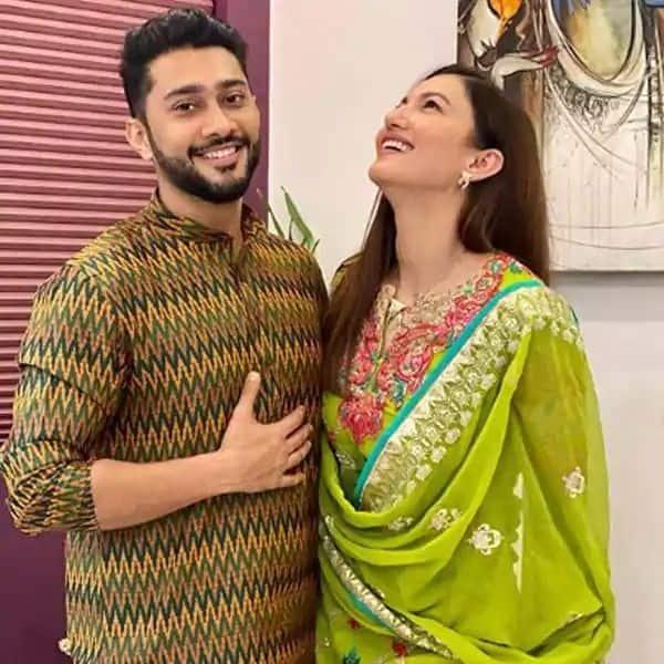 Gauahar Khan and fiancee Zaid Darbar kickstart Diwali celebrations — view pics
