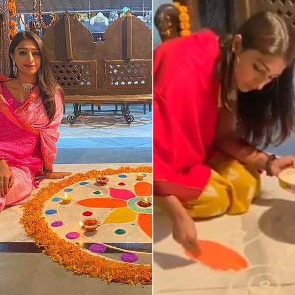 हर तरह छाई मोहिना कुमारी सिंह की रंगोली