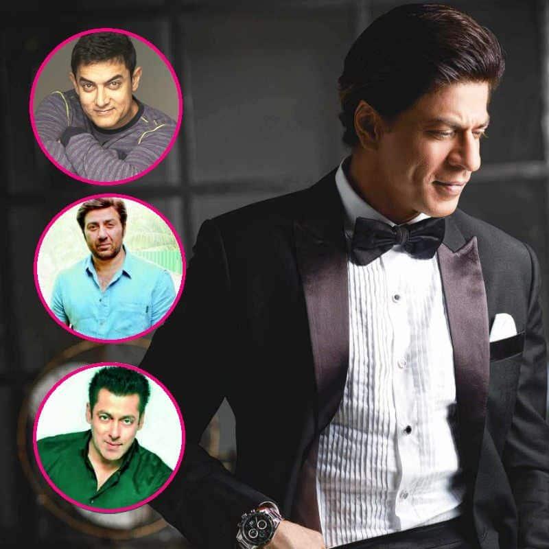 सनी देओल, शाहरुख खान और आमिर खान की छोड़ी हुई फिल्मों से बॉलीवुड के किंग बने शाहरुख खान