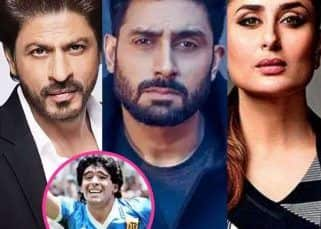 RIP Diego Maradona: Shah Rukh Khan, Abhishek Bachchan, Kareena Kapoor Khan and others mourn the death of the football legend