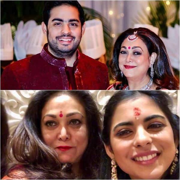 Tina wishes Nita's twins - Akash and Isha