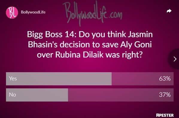 Bigg boss 14, Jasmin Bhasin, Aly Goni, Rubina Dilaik,