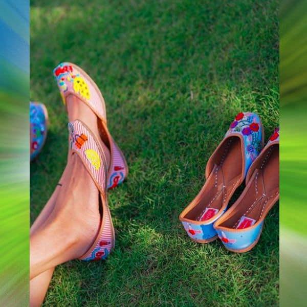 एरिका फर्नांडिस ने फ्लॉन्ट की नई जूती