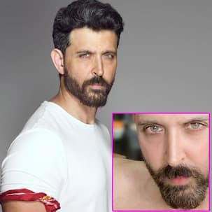 Hrithik Roshan shares a close-up selfie before shaving his beard off; fans call him the 'most handsome man in the world'
