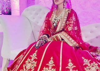Bigg Boss fame Sana Khan shares THESE unseen pics of her 'Walima look' from her wedding with Mufti Anas