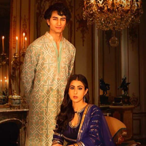 सारा अली खान ने भाई इब्राहिम के साथ क्लिक करवाई तस्वीरें