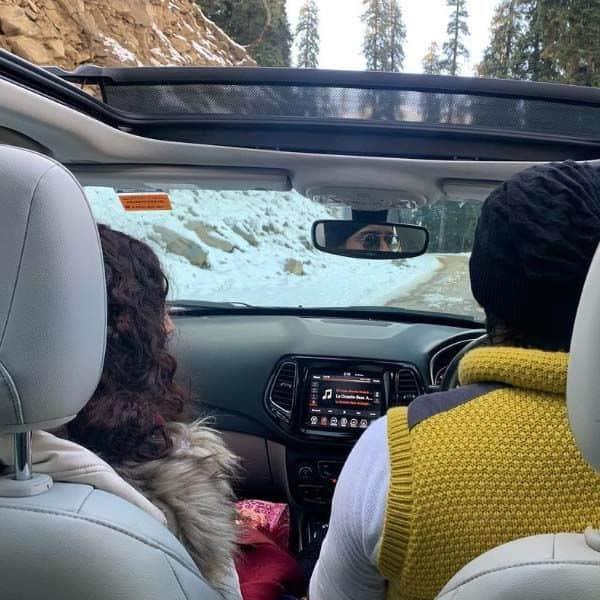 लॉन्ग ड्राइव पर पहुंचे शाहीर शेख और रुचिका कपूर (Ruchikaa Kapoor)