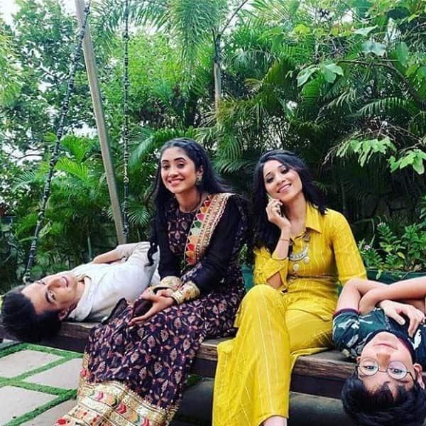 ऑनस्क्रीन सौतन संग वक्त बिताती नजर आईं शिवांगी जोशी (Shivangi Joshi)
