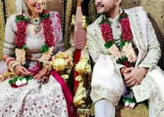 Aditya Narayan and Shweta Agarwal radiate happiness as they become man and wife – view pics