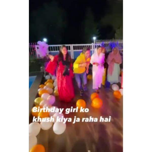 पूरे परिवार के साथ जश्न मनाती दिखीं दीपिका कक्कड़ (Dipika Kakar)