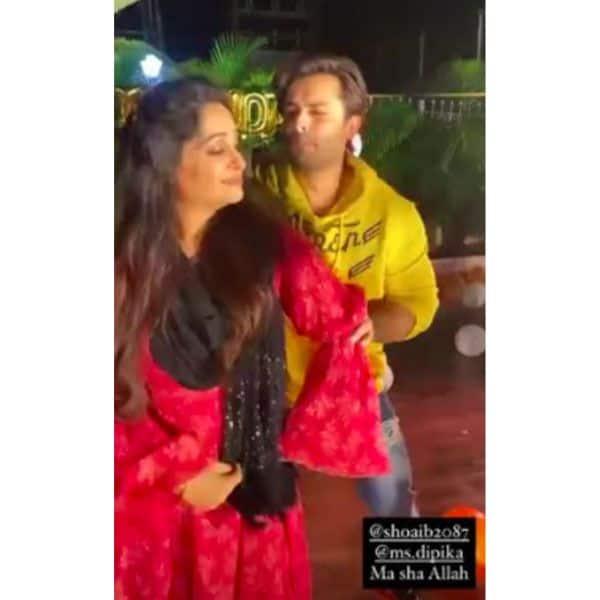 शोएब इब्राहिम (Shoaib Ibrahim) के साथ डांस करती दिखीं दीपिका कक्कड़ (Dipika Kakar)