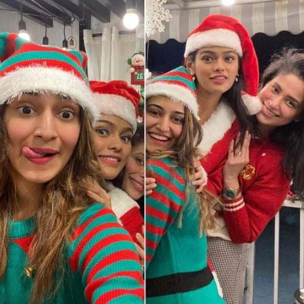 एरिका फर्नांडिस के क्रिसमस सेलिब्रिशन की फोटोज आईं सामने