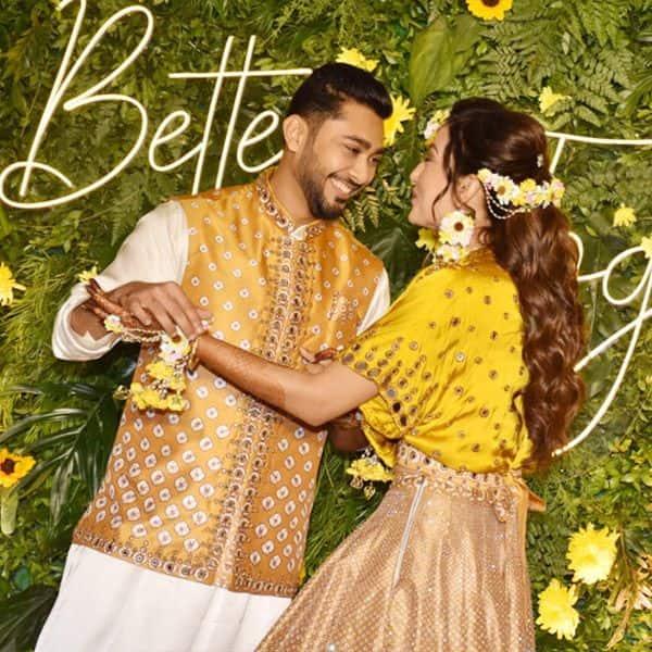 Gauahar Khan-Zaid Darbar flashes million-dollar smiles