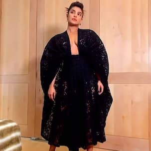 It's Expensive: Priyanka Chopra's sheer lace cocktail dress can buy you 15 tickets to the Maldives