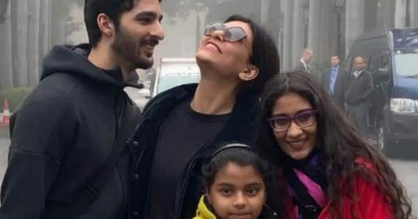 Sushmita Sen posts a picture with just the girls; her caption again hints at breakup with Rohman Shawl - Bollywood Life