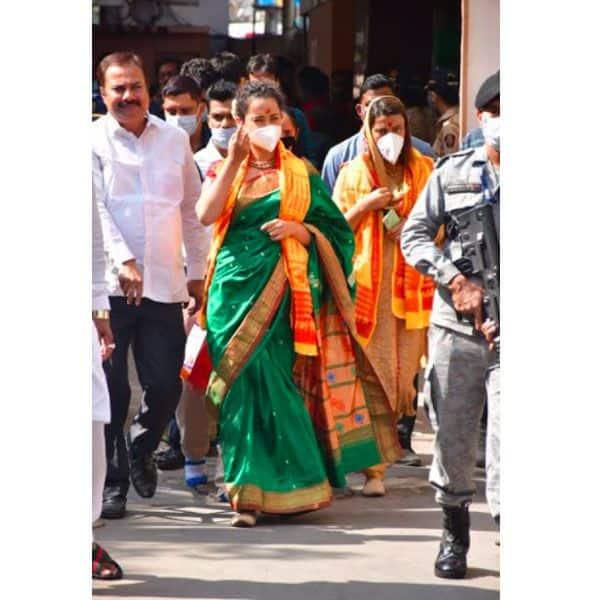 बीते दिन ही मुंबई पहुंची हैं Kanhana Ranaut