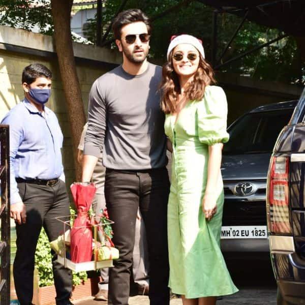 Ranbir Kapoor and Alia Bhatt keeps the spirit high