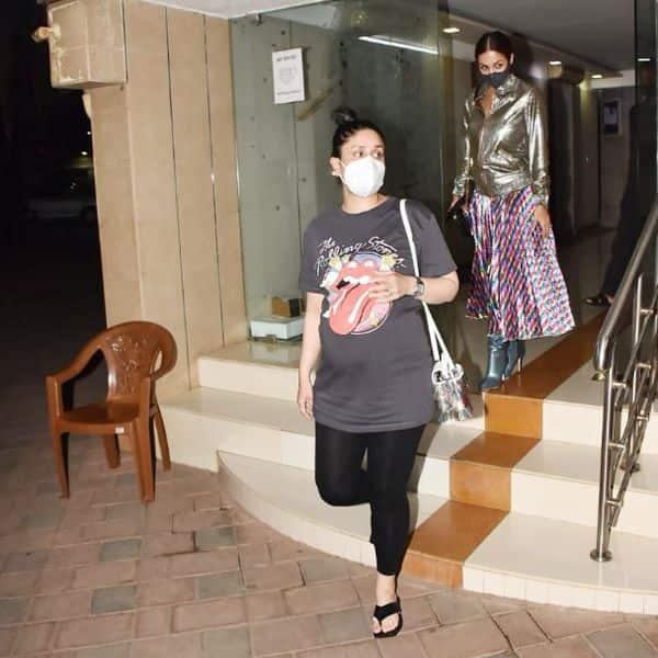 Kareena Kapoor snapped with BFF Malaika Arora