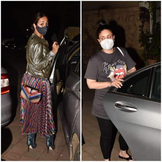 मलाइका अरोड़ा (Malaika Arora) संग डिनर पार्टी में पहुंची करीना कपूर खान (Kareena Kapoor Khan)