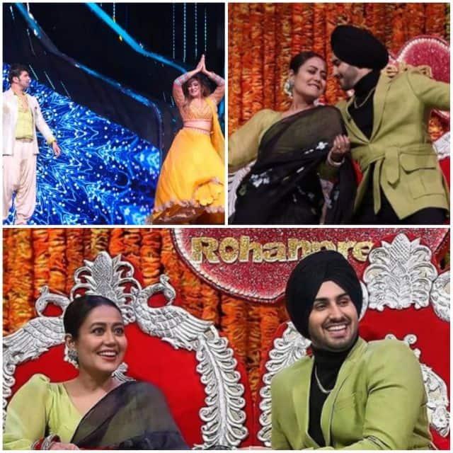 'इंडियन आइडल 12' के मंच पर नेहा कक्कड़ (Neha Kakkar) से मिलने पहुंचे रोहनप्रीत (Rohanpreet Singh)