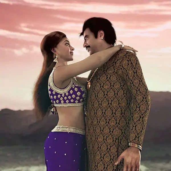 Rajinikanth and Deepika Padukone