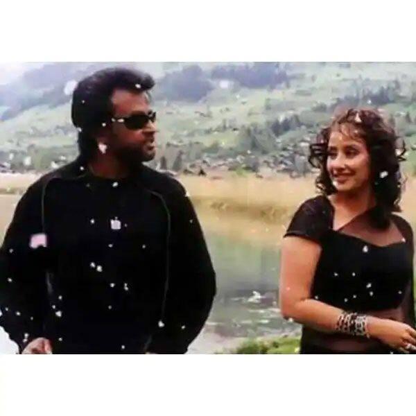 Rajinikanth and Manisha Koirala