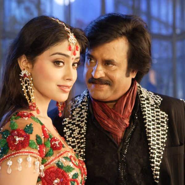 रजनीकांत और श्रेया सरन