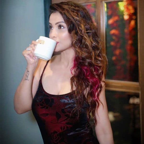 Adaa Khan loves her coffee