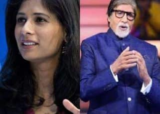 Netizens slam Amitabh Bachchan for calling IMF Chief Economst Gita Gopinath a 'beautiful face'; she responds