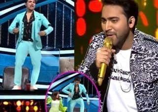 Indian Idol 12: Danish की परफॉर्मेंस देख टेबल पर चढ़ गए Himesh Reshammiya, लोगों को पसंद नहीं आई हरकत