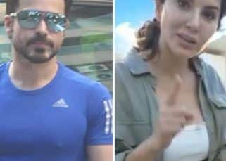 Spotted: Emraan Hashmi clicked by the paps; Sunny Leone gorges on Pani Puri