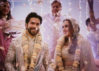 Varun Dhawan-Natasha Dalal की शादी की FIRST PIC हुई आउट