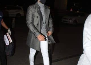 Ranveer Singh's shiny grey trench coat donned at the airport is one for your winter closet — view pics
