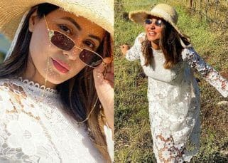 Hina Khan did a full-fledged photoshoot at Sula Vineyards, and it's breathtaking