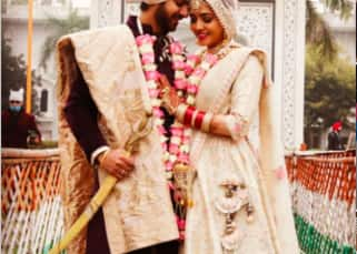 PICS: Pavitra Rishta actor Karan Veer Mehra marries Nidhi V Seth in Delhi